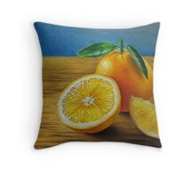 Fresh Vitamin C Throw Pillow