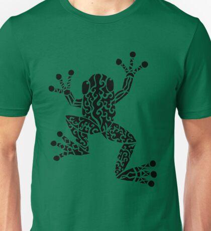 Tree Frog Tribal Design  Unisex T-Shirt