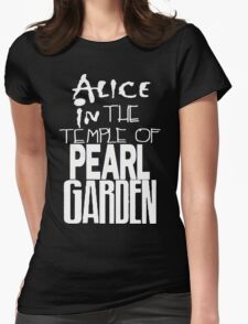 """ Alice in The Temple Of Pearl Garden"" Womens Fitted T-Shirt"