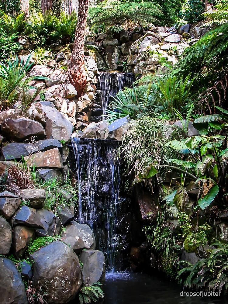 Waterfall garden by Louise Delahunty