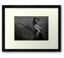 Knife in the Dark Framed Print