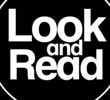 Look and Read Sticker