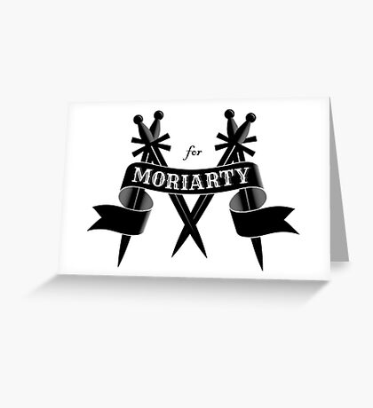 M for Moriarty Greeting Card