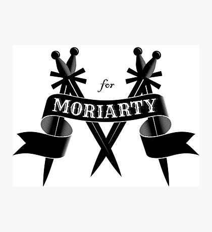M for Moriarty Photographic Print