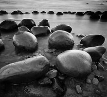 Bowling Ball Beach #1 by Ed Lark