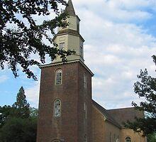 Bruton Parish Church by Jennie L. Richards