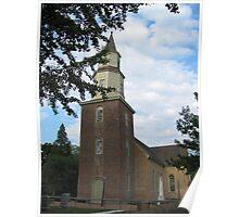 Bruton Parish Church Poster