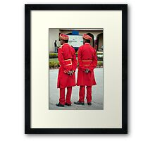 Royal Guardsmen Framed Print