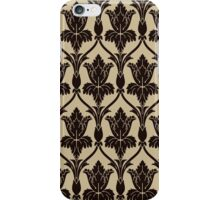 Baker Street 221b Wallpaper iPhone Case/Skin