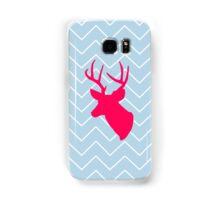 Neon Pink Deer Silhouette  Samsung Galaxy Case/Skin