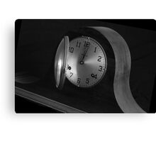 Tick tock, tick tock . . . time  is waiting . . . Canvas Print