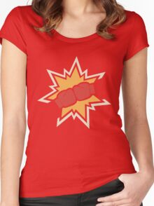 Nemesis! RED Women's Fitted Scoop T-Shirt