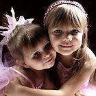 Sisters Wearing Pink by Evita