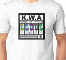 KWA - Knitters With Attitudes Unisex T-Shirt