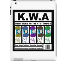 KWA - Knitters With Attitudes iPad Case/Skin