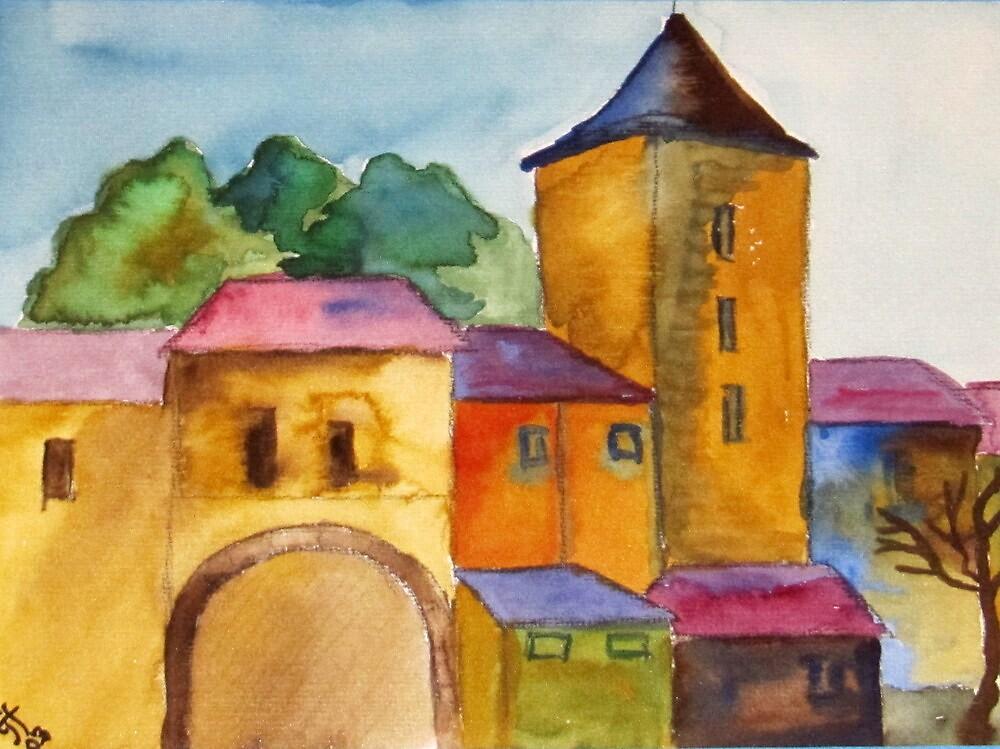 Nürnberger Burg by TrixiJahn