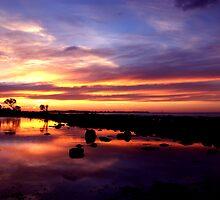 Burnett Heads sunset by tonysphotospot
