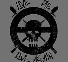I live again (black) by spazzynewton