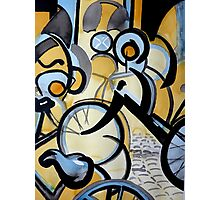 Cycles in Amsterdam I Photographic Print