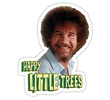 Bob Ross Happy little Trees Photographic Print
