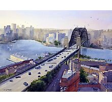 Sydney Harbour to the West Photographic Print