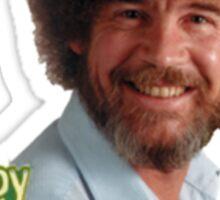 Bob Ross Happy little Trees Sticker