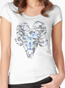 Blue Ram Vintage Women's Fitted Scoop T-Shirt