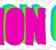 THON ON Sticker
