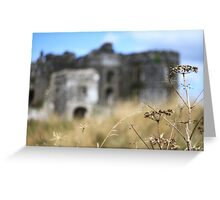 Cow Parsley Castle (& a Ghost Gorilla!) Greeting Card