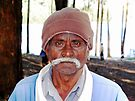 Man with a Mustache © by Ethna Gillespie