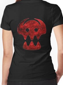 How to Train Your Dragon Viking Logo Women's Fitted V-Neck T-Shirt