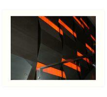 Wall inside Crown Casino - Melbourne Art Print