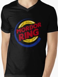 Mordor Ring  Mens V-Neck T-Shirt