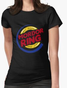 Mordor Ring  Womens Fitted T-Shirt