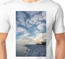 Cirrocumulus Clouds and Sunshine - Lake Ontario, Toronto, Canada Unisex T-Shirt