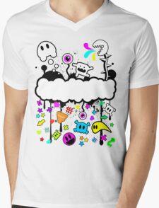 Trippy de-do-da Mens V-Neck T-Shirt