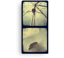 Cambridge Collection: Rain One Canvas Print