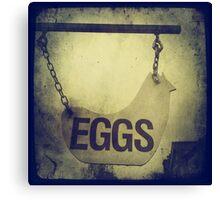 Cambridge Collection: Eggs Canvas Print