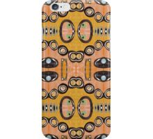 Retro Mid Century Style  iPhone Case/Skin