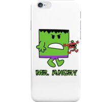 Mr Angry iPhone Case/Skin