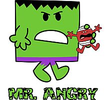 Mr Angry Photographic Print