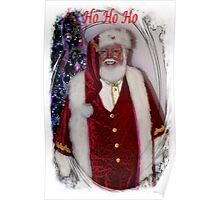 Christmas Card - Ho Ho Ho Poster