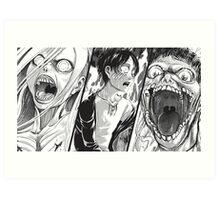 Manga Titan Art Print