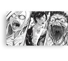 Manga Titan Canvas Print