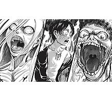 Manga Titan Photographic Print