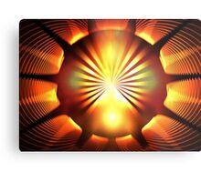 Mandarin Orange Metal Print