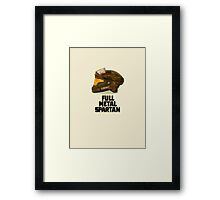 Halo: Full Metal Spartan Framed Print