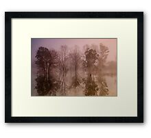 Wyaralong Dam Sunrise Framed Print