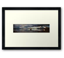 The Lakes' Shore Framed Print