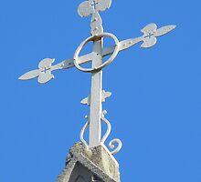 Cross on St Patrick's by TheaShutterbug